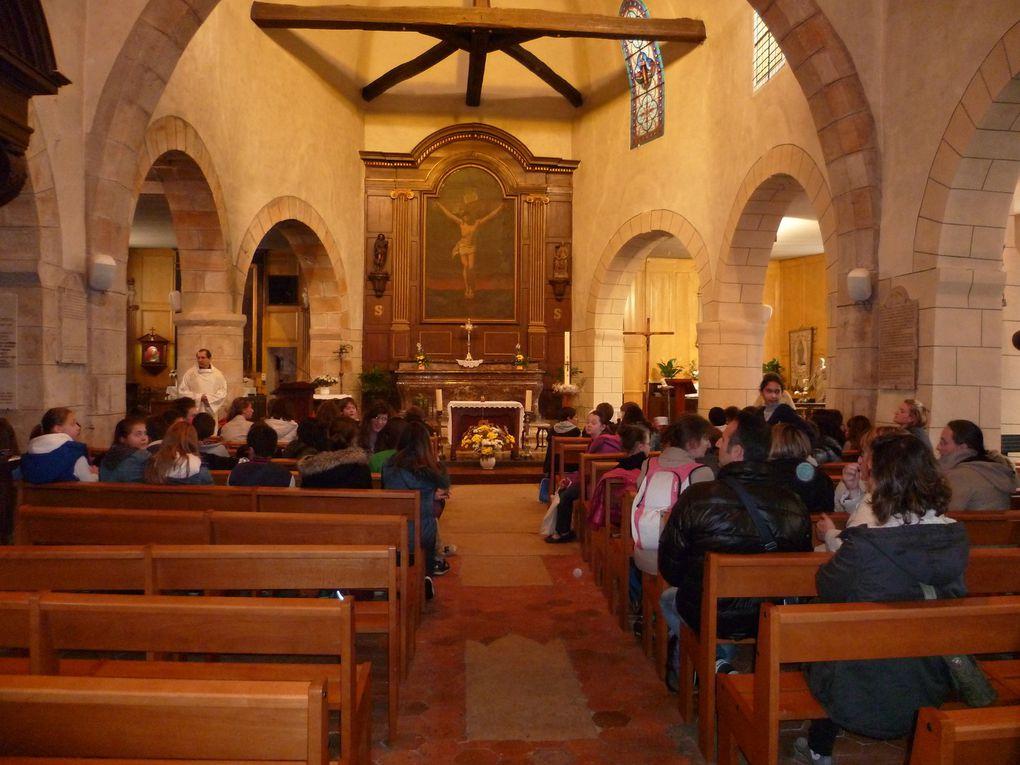 Retraite 1ère des communions : mercredi 7 mai 2014