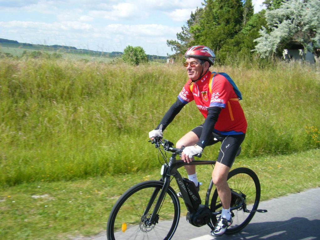 Jean-François est son vélo à assistance.