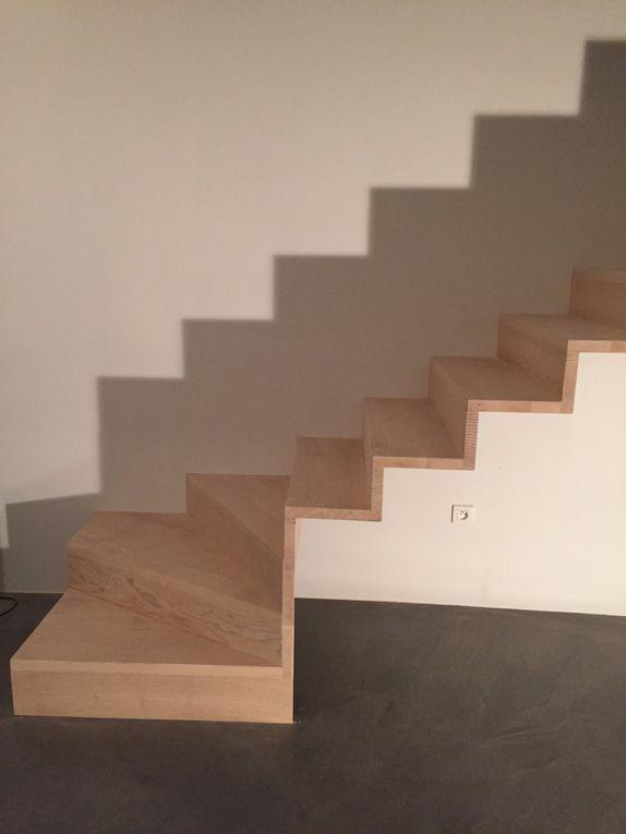 Escalier design aux lignes épurées