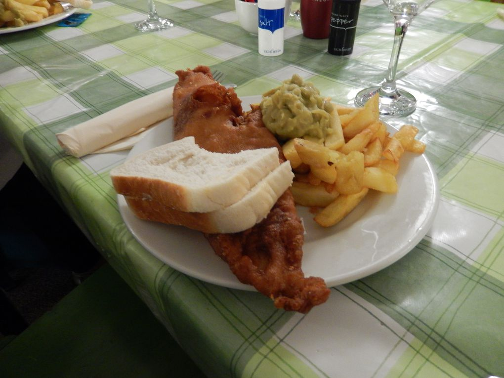 Ravenglass - Ratty - Fish and chips... and beer...
