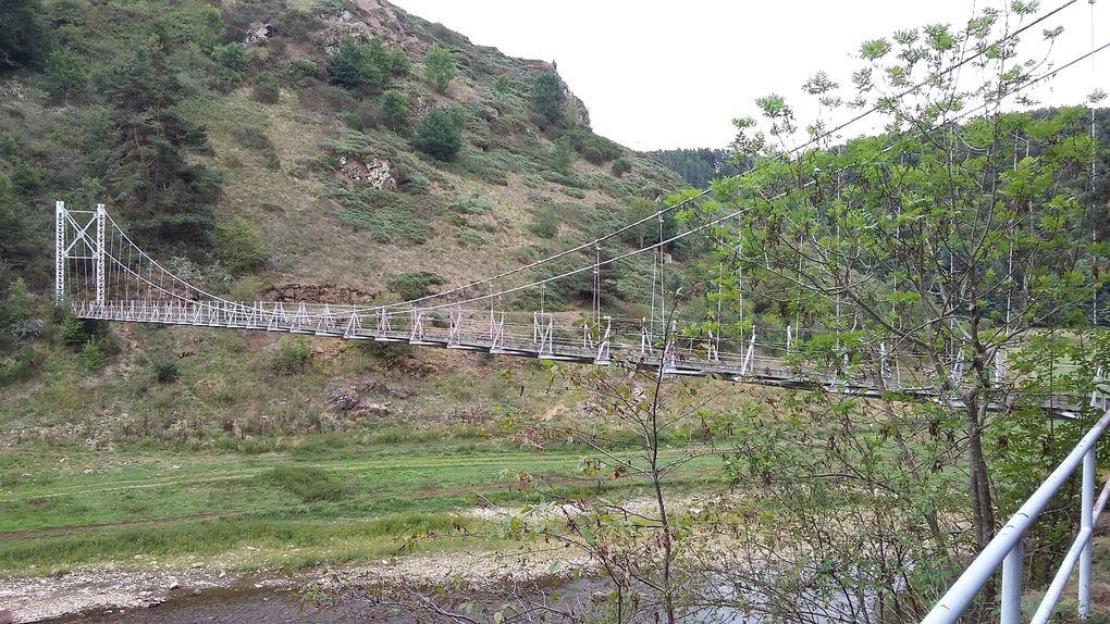 Rando &quot&#x3B;Les ponts de la Truyère&quot&#x3B; (6.9.15)