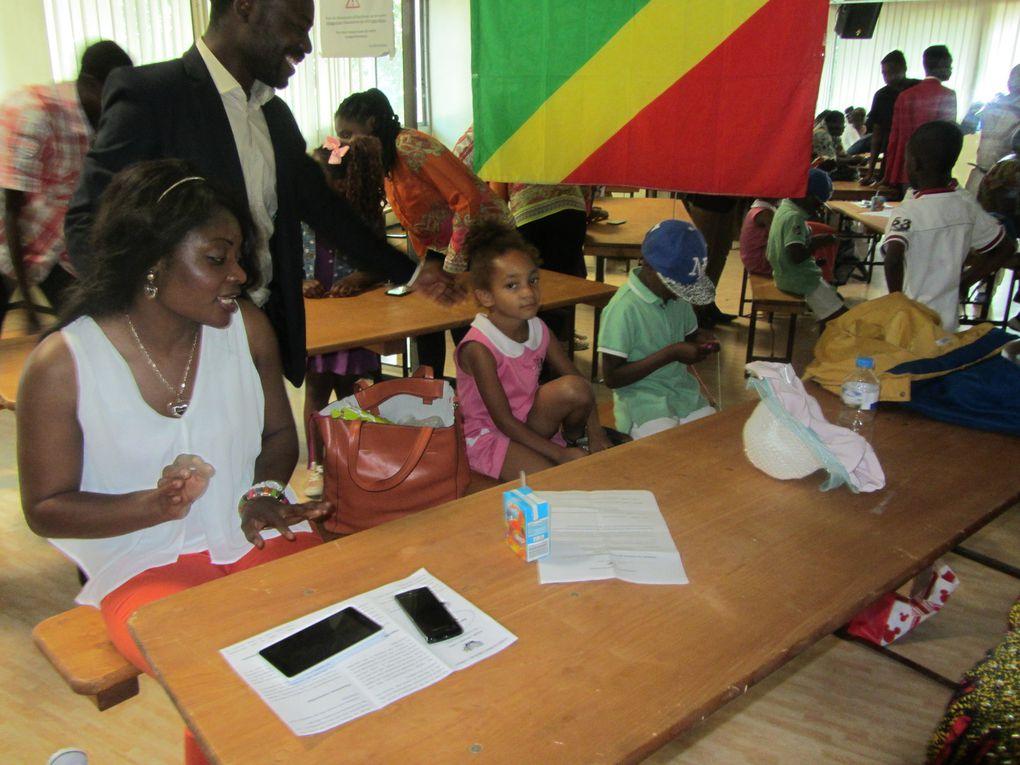 Photos de la journée de clôture de l'accompagnement à la scolarité 2014-2015