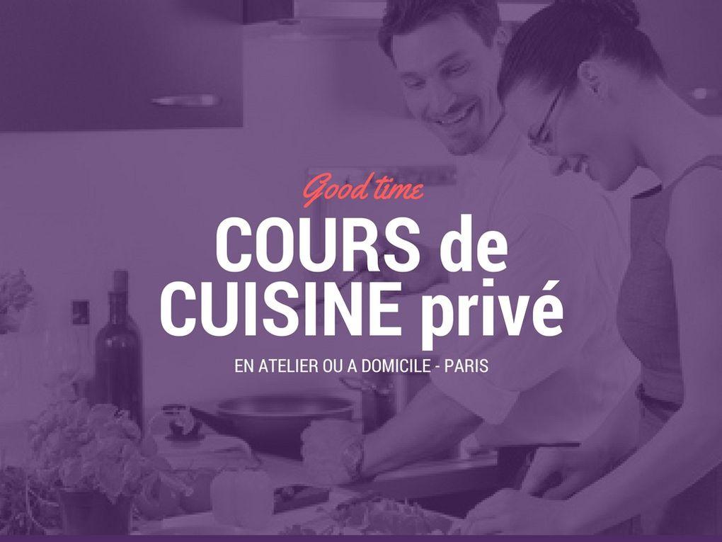 Cours de cuisine by Chef Roby Mayer Paris