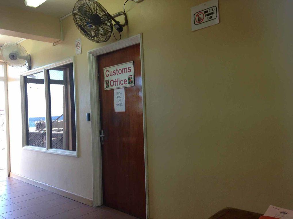 Clearance à Ferry Dock - Roseau