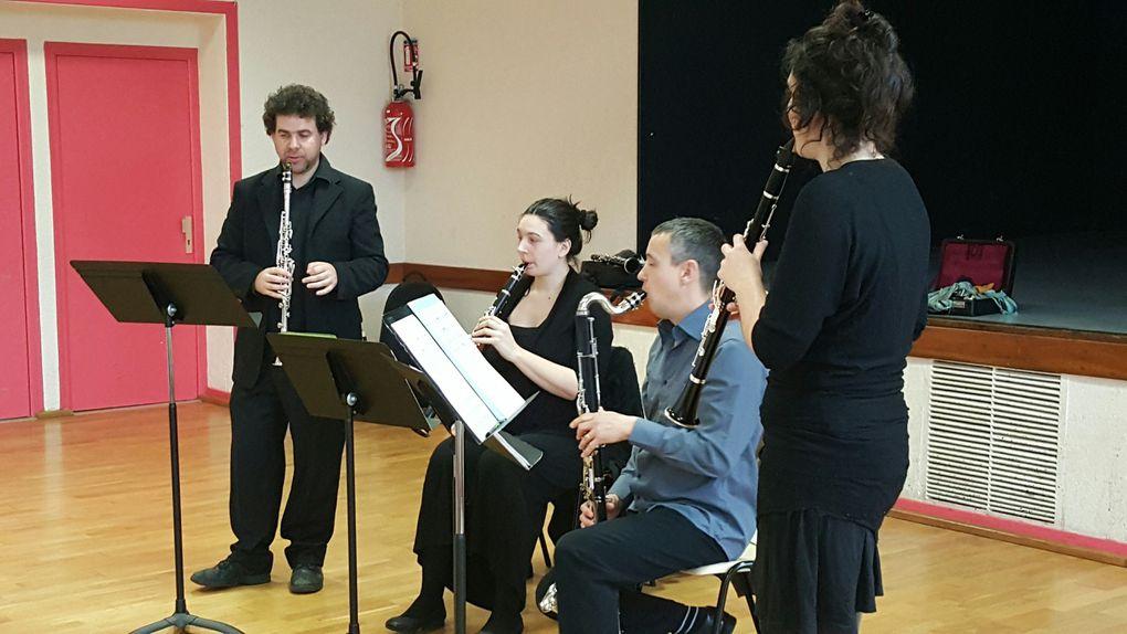 Le concert de noël par le Breizh Clarinette club