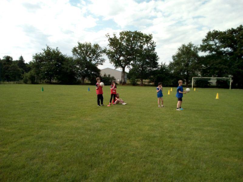 CM2 : initiation au football gaélique
