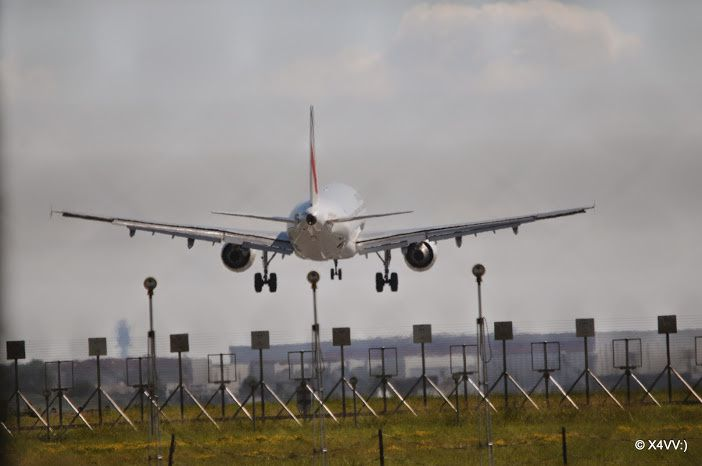 Atterrissage à Orly