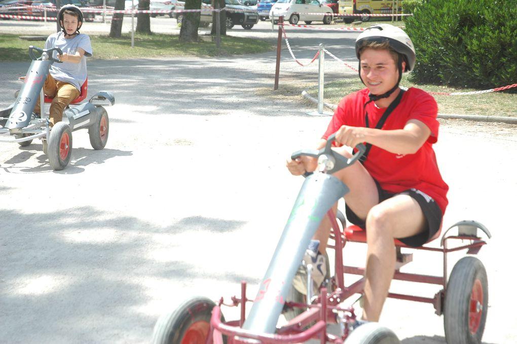 Course de Kart pour les 4èmes