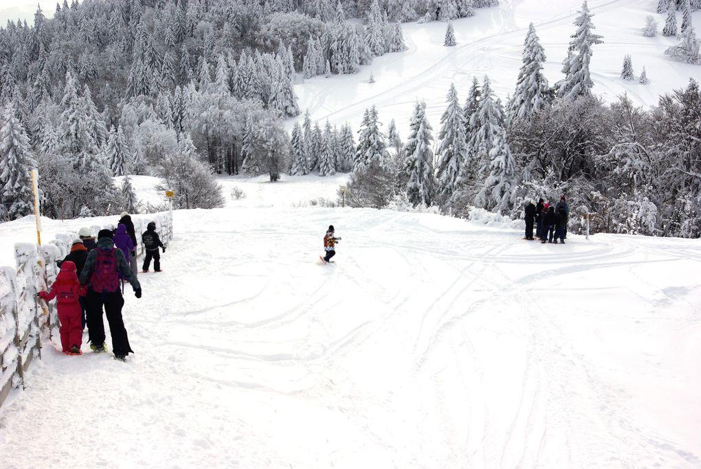 Classe de neige aux Campènes