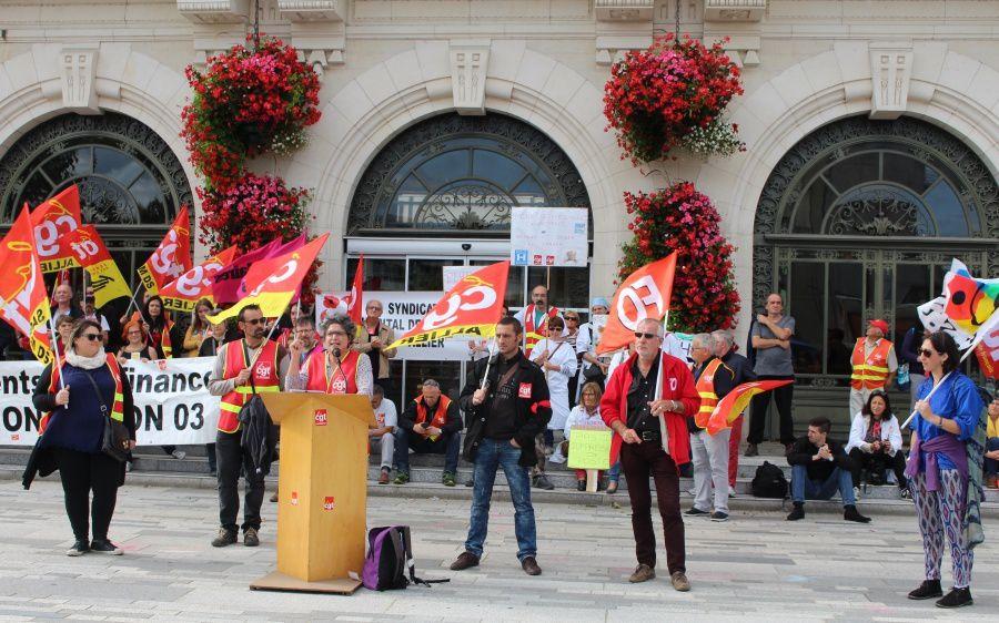 Manifestation du 12 septembre : un premier tour de chauffe