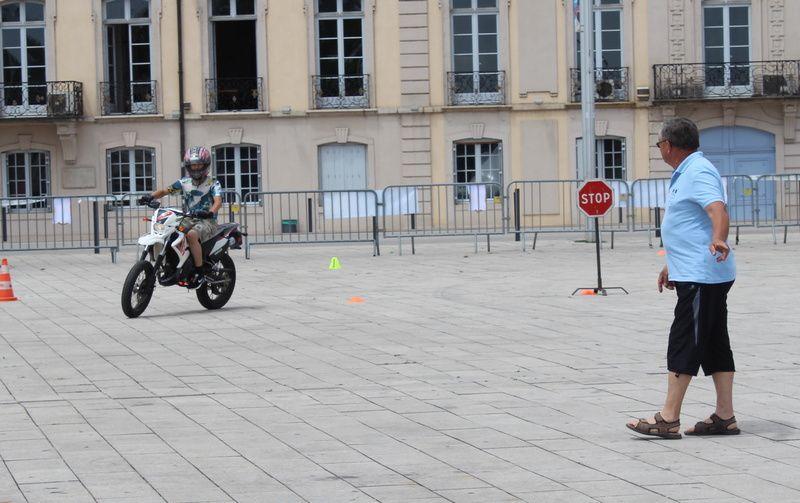 La Fédération toujours en soutien aux bonnes initiative et notamment dans le domaine de la moto.