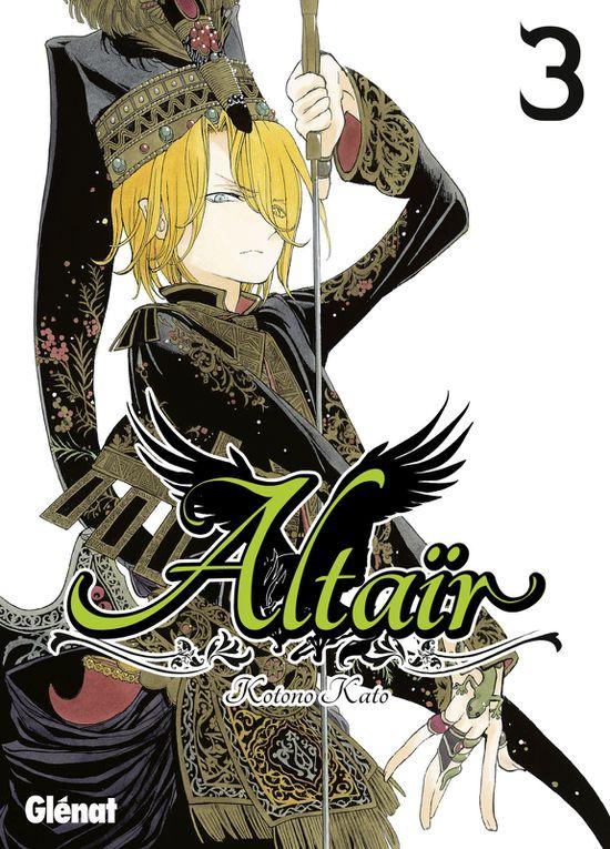 Altaïr tome 3, Bleach tome 61, Tokyo Ghoul tome 9 chez Glénat