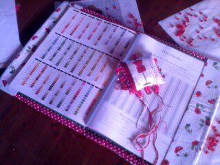Broderie !!! projet terminé !!! Joyeux Noël !!!