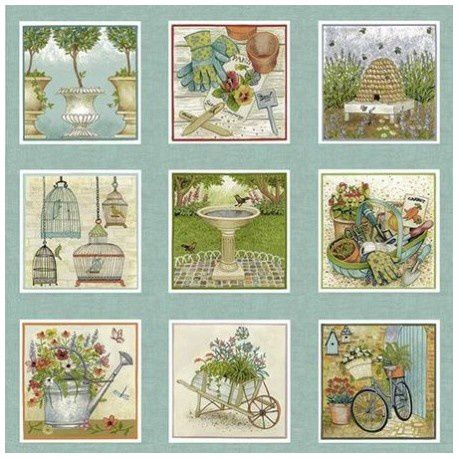 Collection Jardin Antique