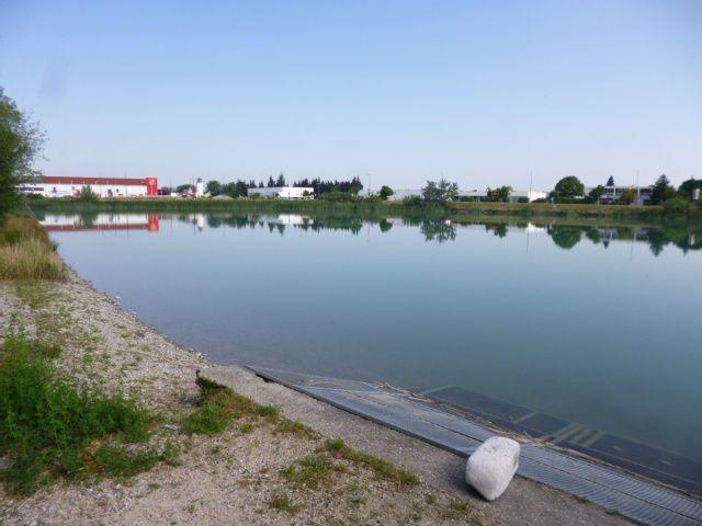 Fontaines / Fontainier . Lac St Chamand 6/06/2017  (Intervention sur site - photo AL & Océane Roche)