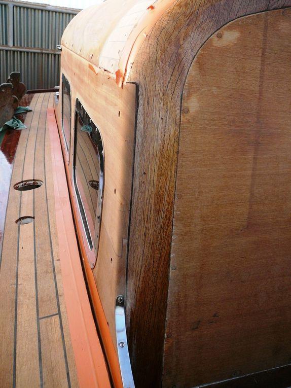 Ajustage sur la façade et mise en place de la baguette de recouvrement du joint.
