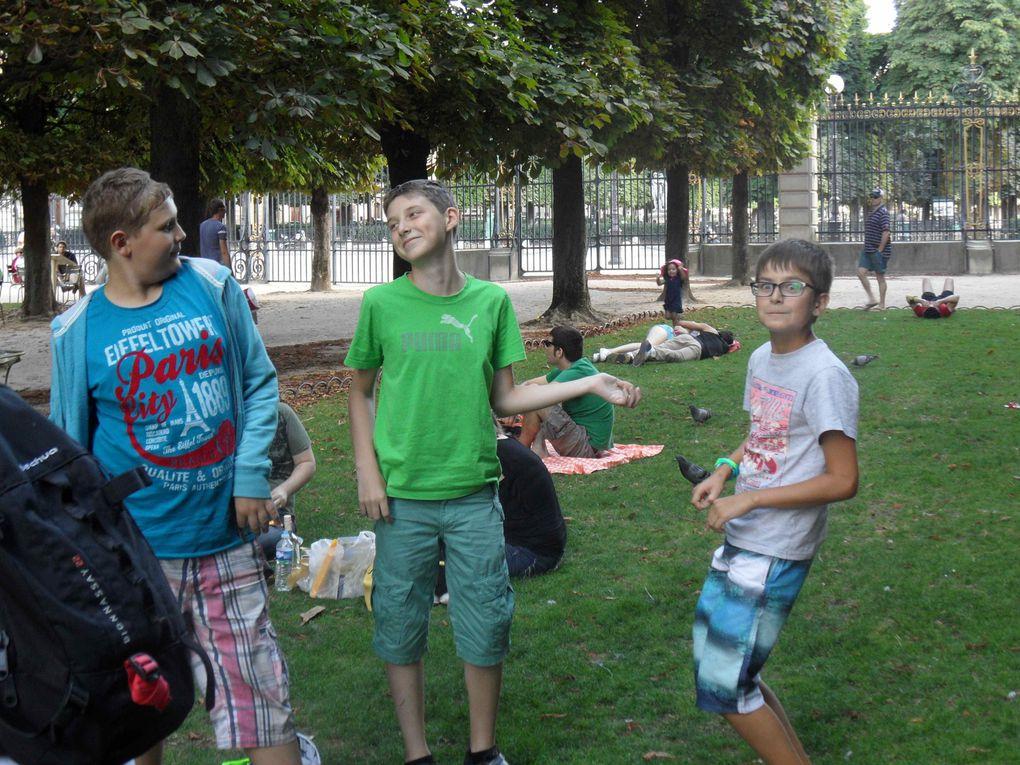 Retour sur le camp d'été à Paris