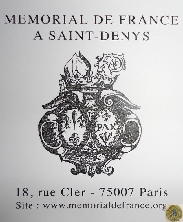 MEMORIAL DE FRANCE A SAINT-DENYS