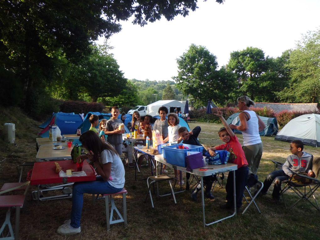Camp d'été enfance - juillet 2017