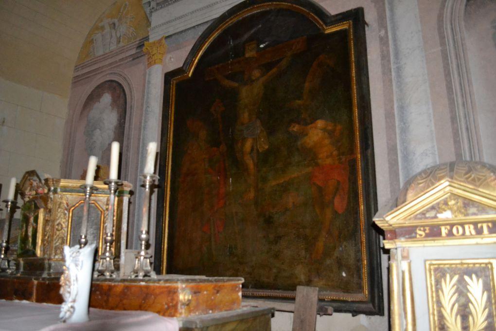 l'église de Poussignac