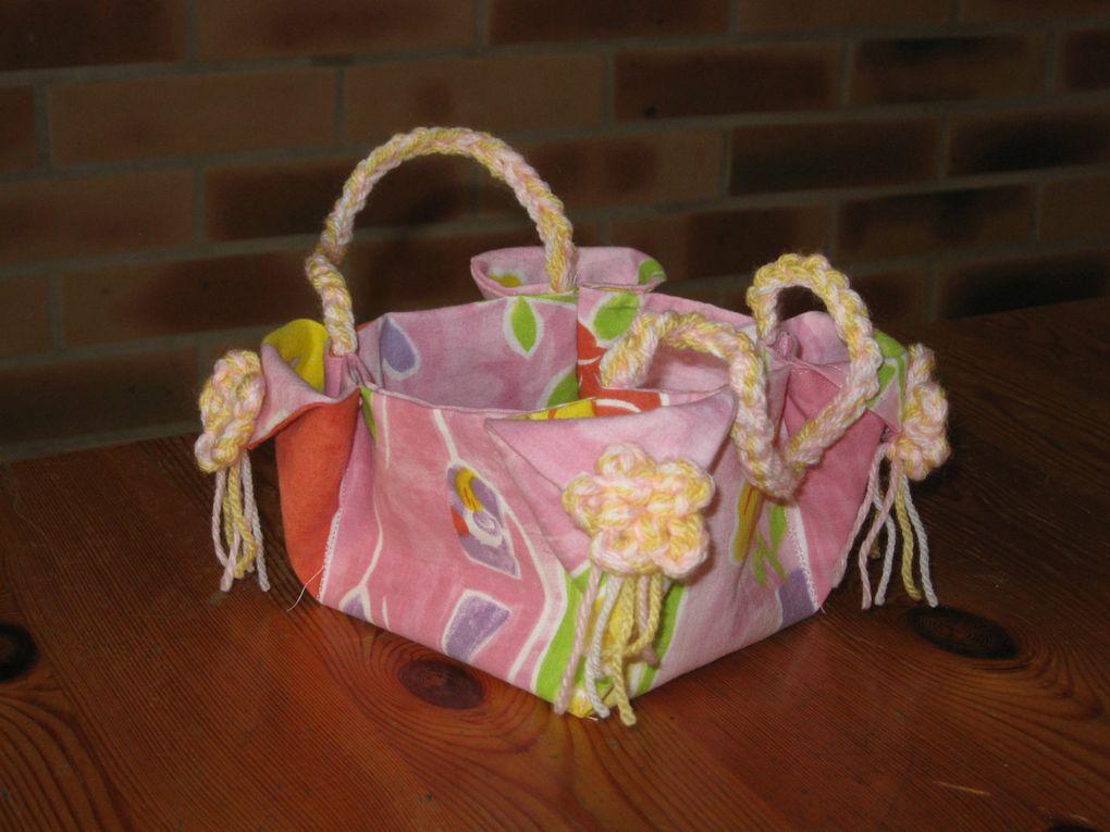Un petit sac à bidouilles pour petites filles