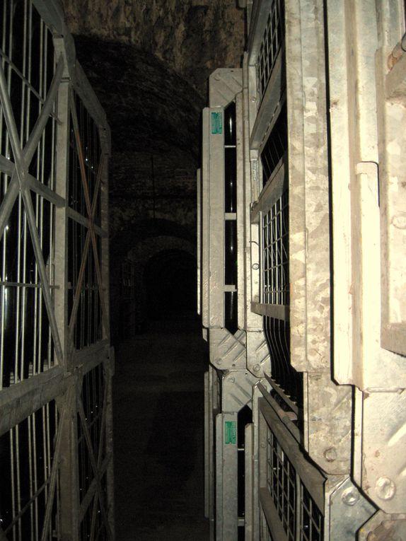 intérieur de la cave