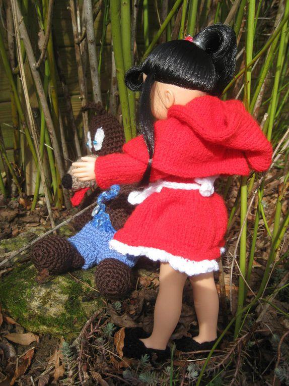 Une petite robe vite faite .... pour &quot&#x3B;chéries-paola&quot&#x3B; ...