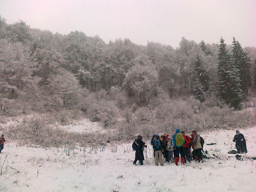 Album - séjour Auvergne janvier 2015