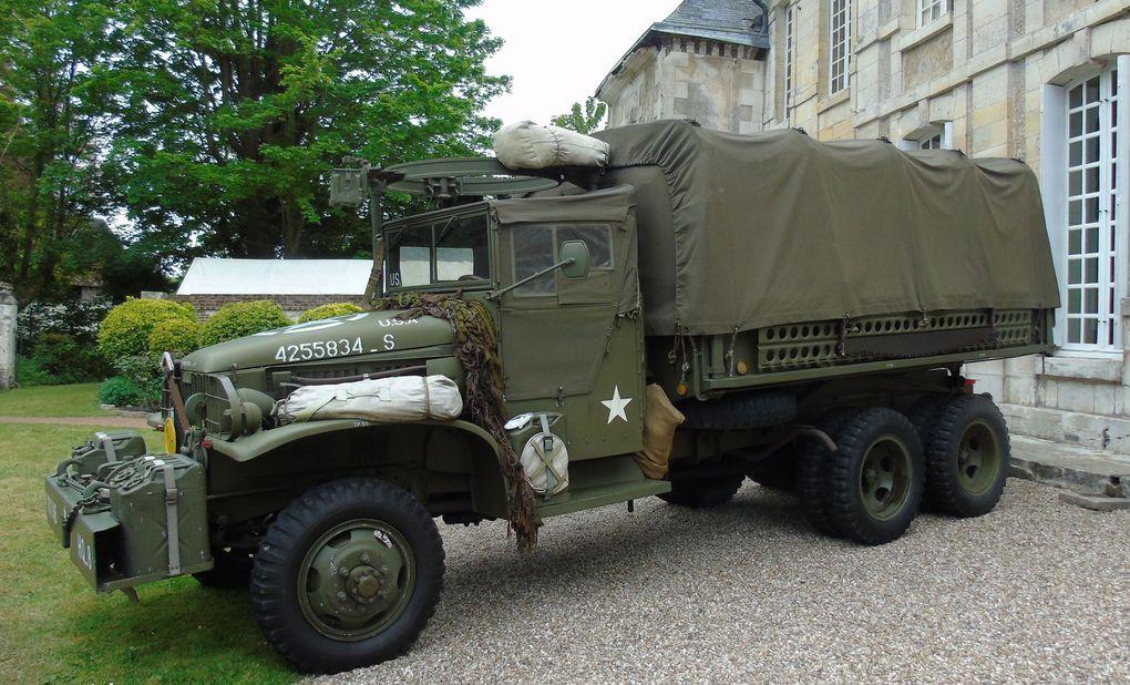 Commémorations du 08 mai 1945 au Chateau du Taillis à Duclair - Mai 2017