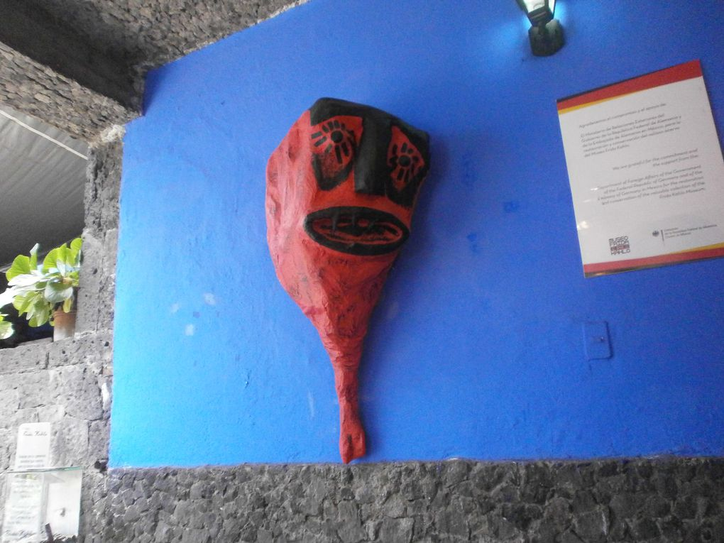 La majorité des photos sont faites par Naïa.Dans ces images vous verrez l'arbre à chewing gums de Coyocan , j'ignore pourquoi cet arbre là et pas un autre mais cela intrigue les filles à chaque passage