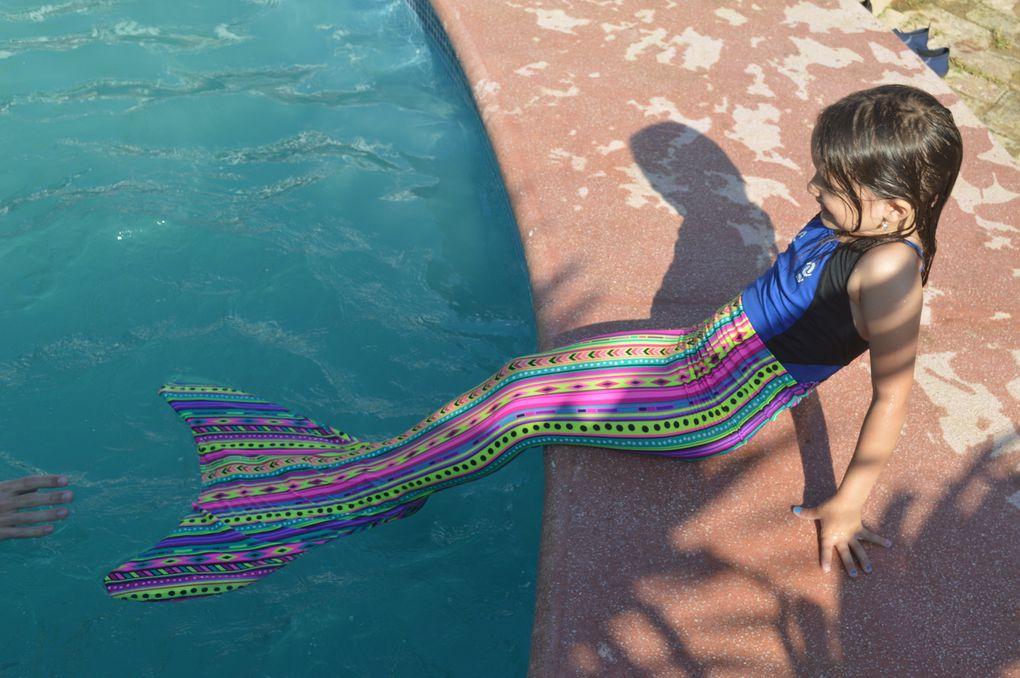 On a aussi testé la nouvelle queue de sirène de Naïa &#x3B;)