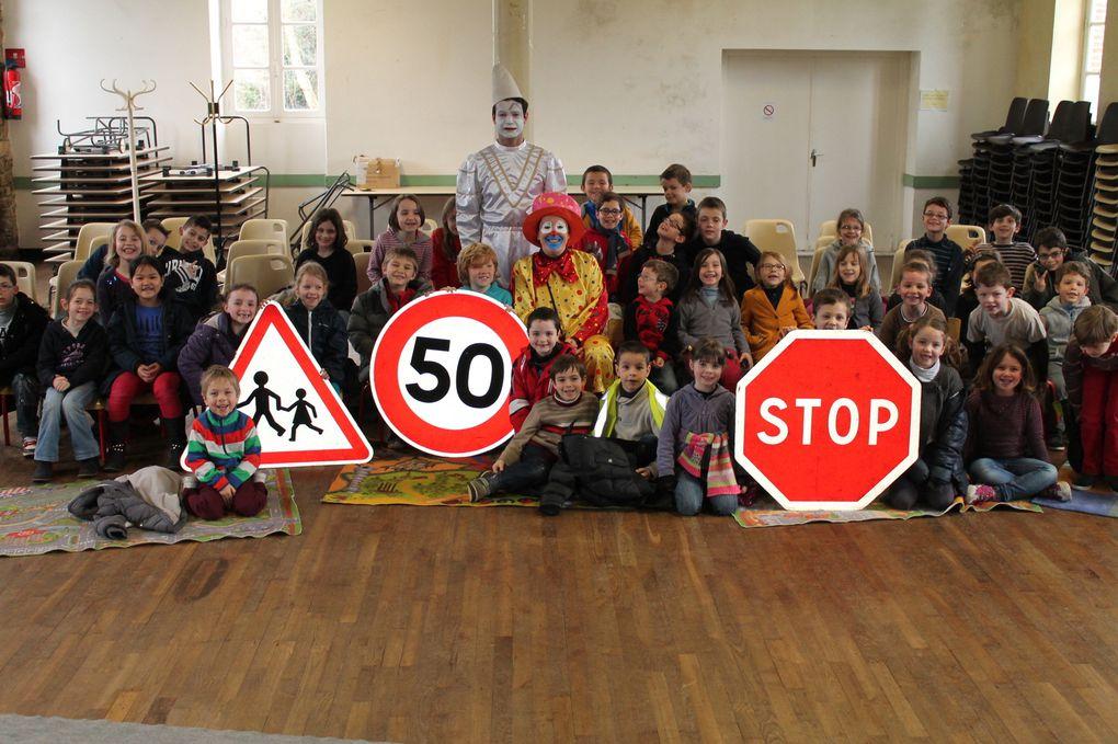 sécurité routière pour les CP-CE1-CE2