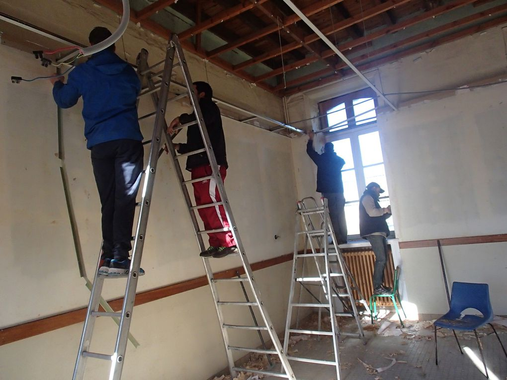 Rénovation des classes