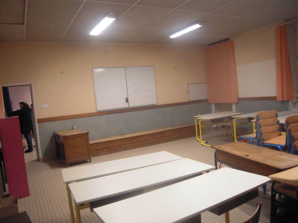 Rénovation des classes