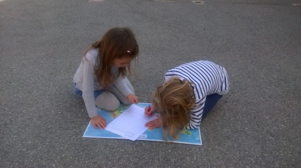 Espace avec les CP-CE1: dessiner le plan de l'école
