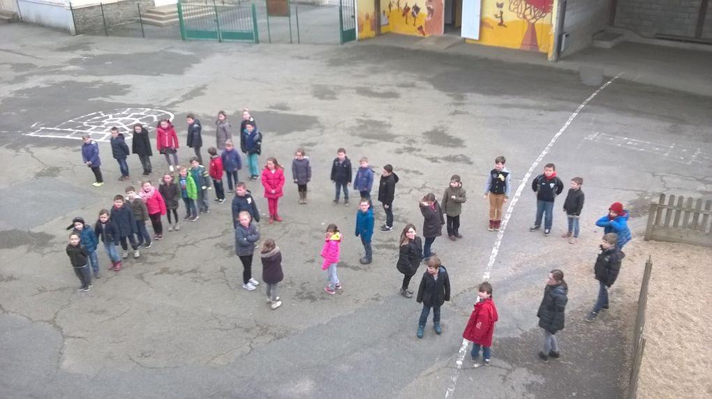 Fête du 100ème jour à l'école