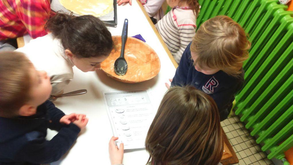 Atelier cuisine en maternelle et CP