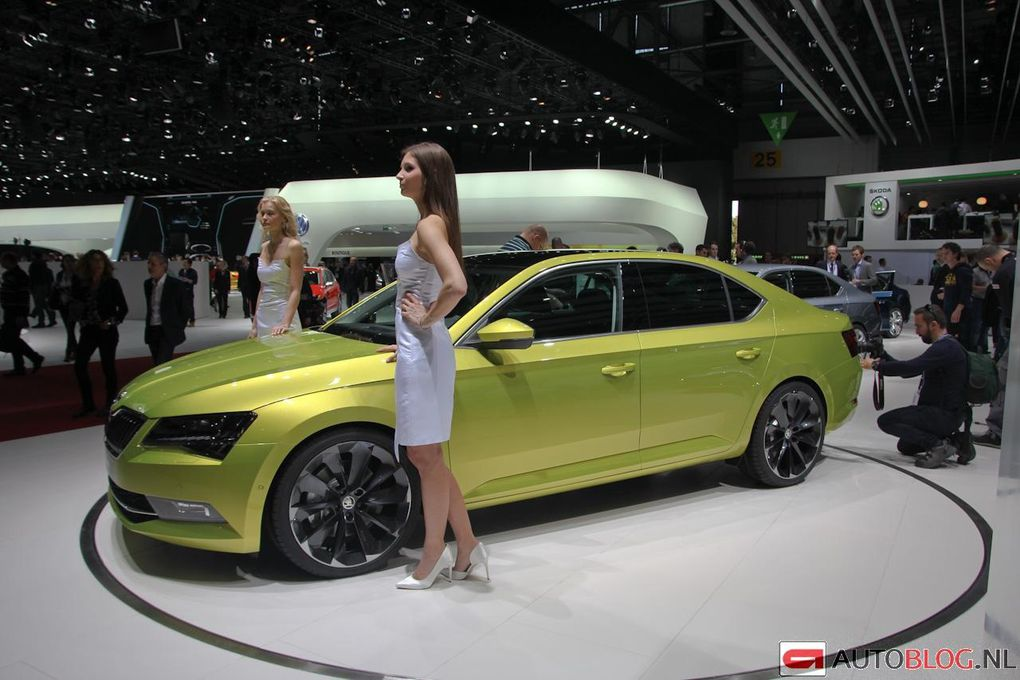 La nouvelle Skoda Superb Break