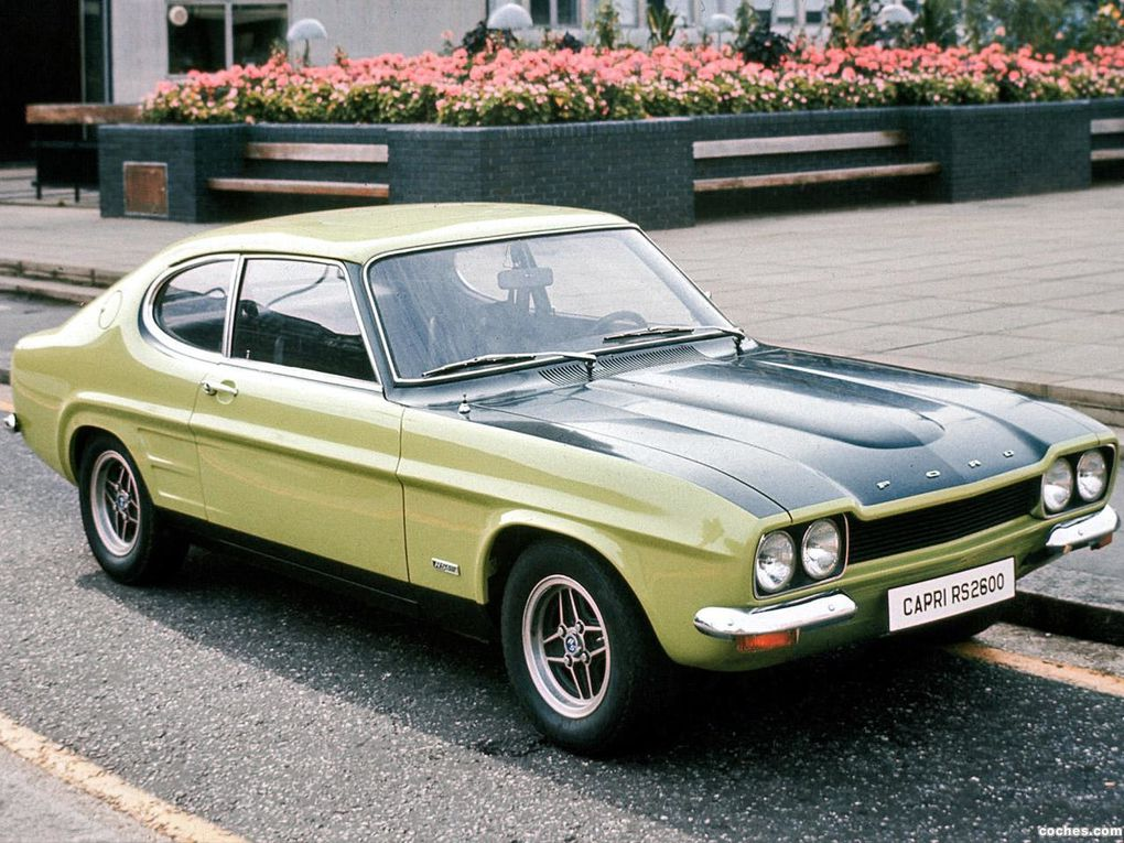 Old Timer : Ford Capri 2800 i de 1982
