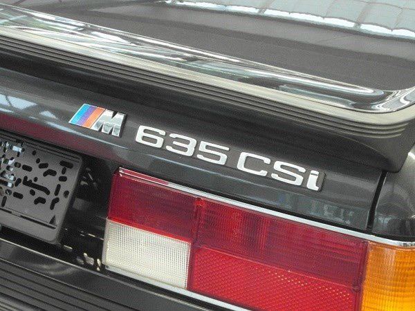 Old Timer - BMW 635 CSi (1986)