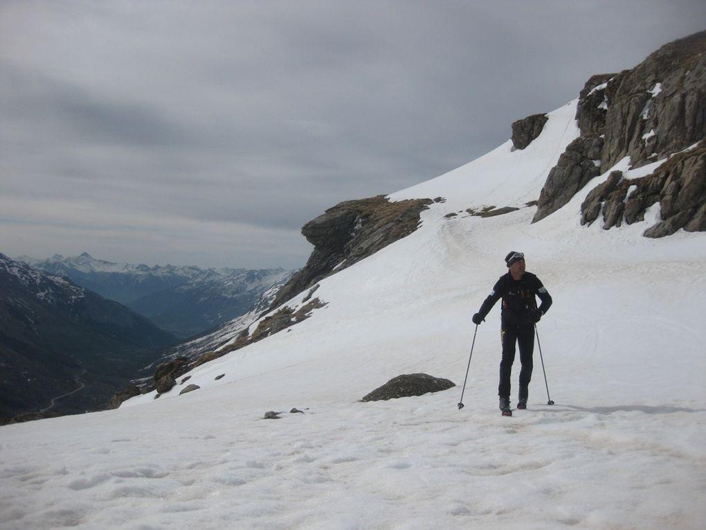 Pic Blanc du Galibier - 6 mai.