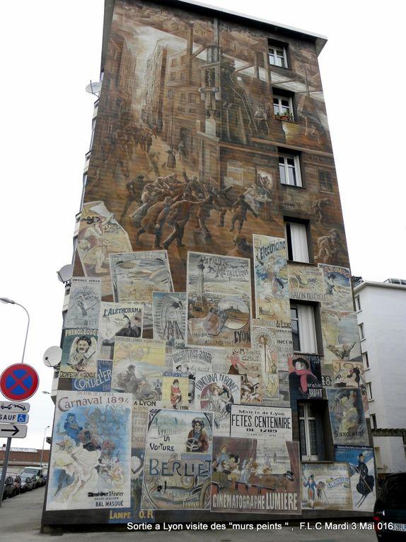 Lyon : les murs peints