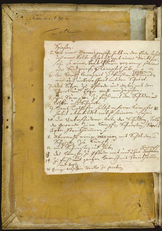 Dossier : Le Manuscrit Secret du Moyen Age