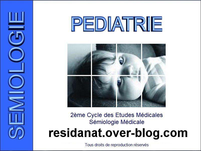 Télécharger le CD-ROM des cours de sémiologie médicale de Pédiatrie