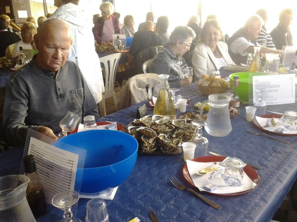 Journée coquillages à Bouzigues
