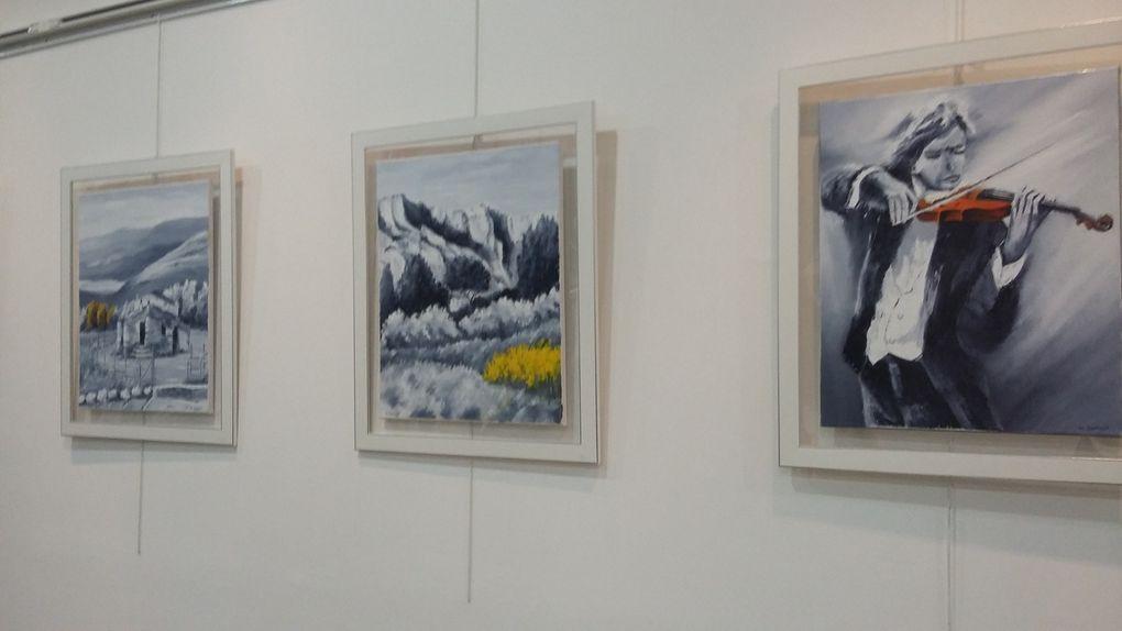 1er salon des Arts et Loisirs  Créatifs &quot&#x3B;Section peinture&quot&#x3B;