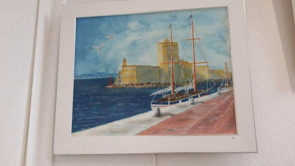 L'OMCAL expose à l'espace St Nazaire à Sanary sur mer