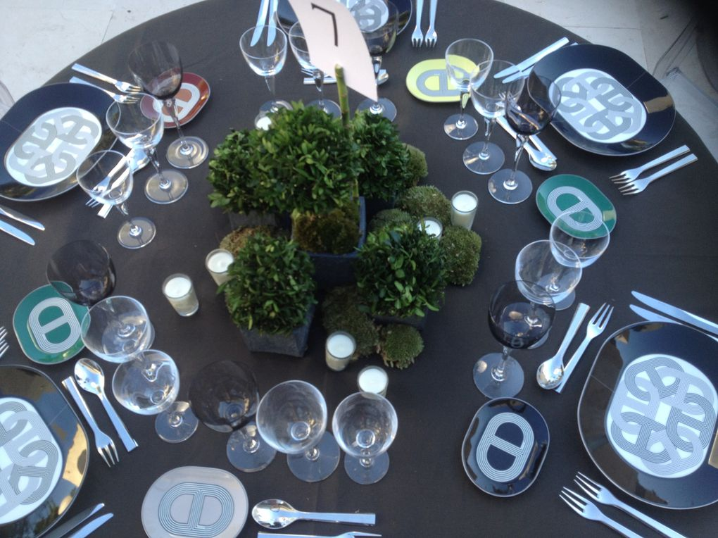 Petits jardins sur table..