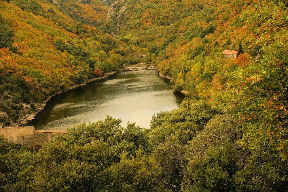 Vu du lac que l'on ne verra plus