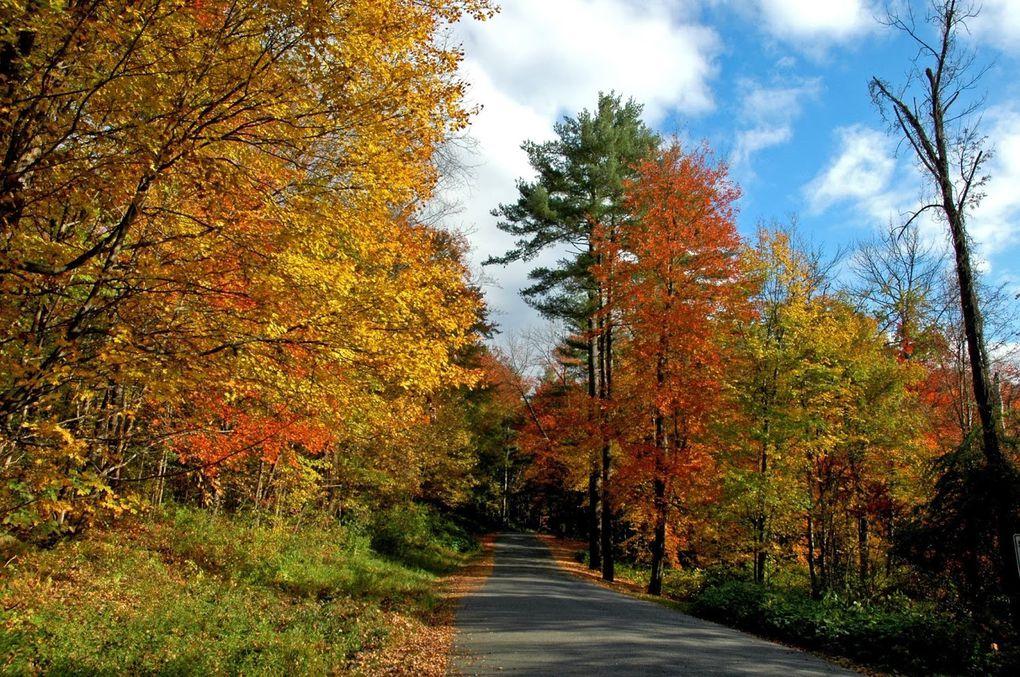 Nouvelle Angleterre, USA (Octobre 2013)